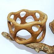 """Украшения ручной работы. Ярмарка Мастеров - ручная работа Браслет из дерева """"Лесная фантазия"""" (ясень). Handmade."""