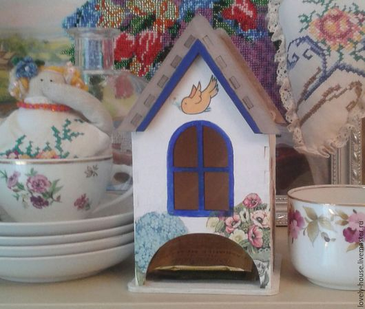 """Кухня ручной работы. Ярмарка Мастеров - ручная работа. Купить чайный домик """"Лето в провансе"""". Handmade. Разноцветный, чайный домик"""