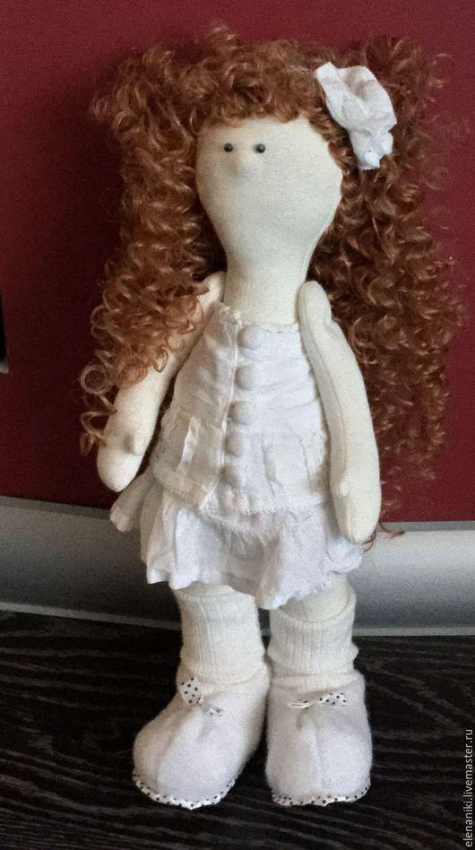 Человечки ручной работы. Ярмарка Мастеров - ручная работа. Купить Куколка. Handmade. Кукла, большеножка, игровая кукла, хлопок, кружева