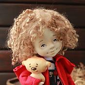Куклы и игрушки ручной работы. Ярмарка Мастеров - ручная работа С любимым мишкой. Handmade.