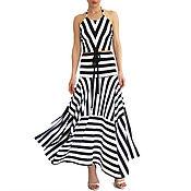 Одежда handmade. Livemaster - original item MARINE summer set skirt and top. Handmade.