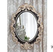 Для дома и интерьера ручной работы. Ярмарка Мастеров - ручная работа Зеркало в багете. Handmade.
