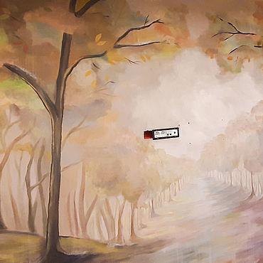 Дизайн и реклама ручной работы. Ярмарка Мастеров - ручная работа Декор: Роспись стен Осень. Handmade.