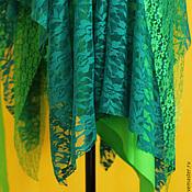 Одежда ручной работы. Ярмарка Мастеров - ручная работа Юбка Зелёное-бохо :). Handmade.