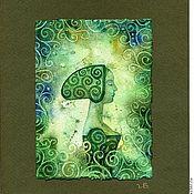 """Картины и панно ручной работы. Ярмарка Мастеров - ручная работа Акварель """"Весна"""". Handmade."""