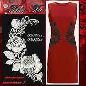 Материалы для творчества handmade. Livemaster - original item Bright roses. Composition 5 (application).. Handmade.