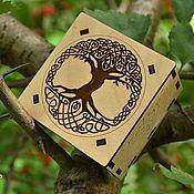 """Фен-шуй и эзотерика ручной работы. Ярмарка Мастеров - ручная работа Набор рун  """"Древо светлого мира"""". Handmade."""