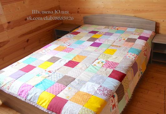 Текстиль, ковры ручной работы. Ярмарка Мастеров - ручная работа. Купить Лоскутное одеяло. Handmade. Лоскутное одеяло, одеяло детское