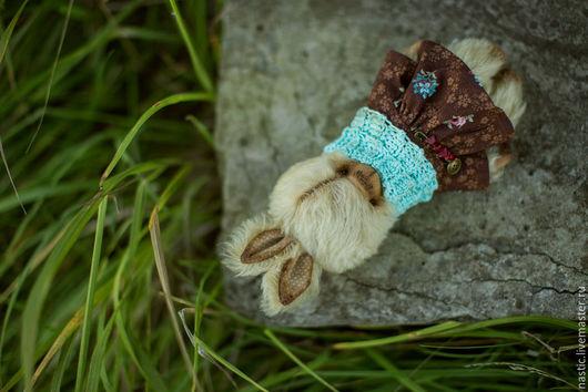 Мишки Тедди ручной работы. Ярмарка Мастеров - ручная работа. Купить о чём шепчут травы. Handmade. Бежевый, мохер, шплинты