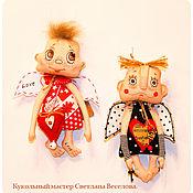 Куклы и игрушки ручной работы. Ярмарка Мастеров - ручная работа авторская кукла АНГЕЛ - охранник дома. Handmade.