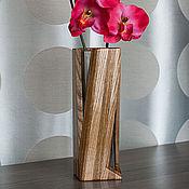 Для дома и интерьера ручной работы. Ярмарка Мастеров - ручная работа Ваза интерьерная ассиметричная. Handmade.