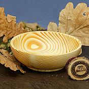 Посуда handmade. Livemaster - original item Wooden Bowl (17cm) 100%#69. Handmade.