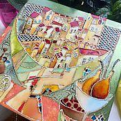 """Для дома и интерьера ручной работы. Ярмарка Мастеров - ручная работа Панно """" Полная чаша"""". Handmade."""