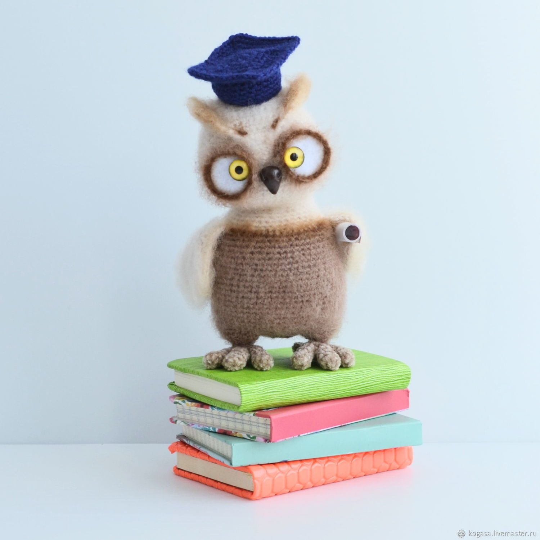Owl Betty, Stuffed Toys, Chrysostom,  Фото №1