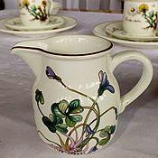 """Винтаж handmade. Livemaster - original item Фарфоровый молочник Botanica"""" Villeroy&Boch"""",( Luxembourg). Handmade."""