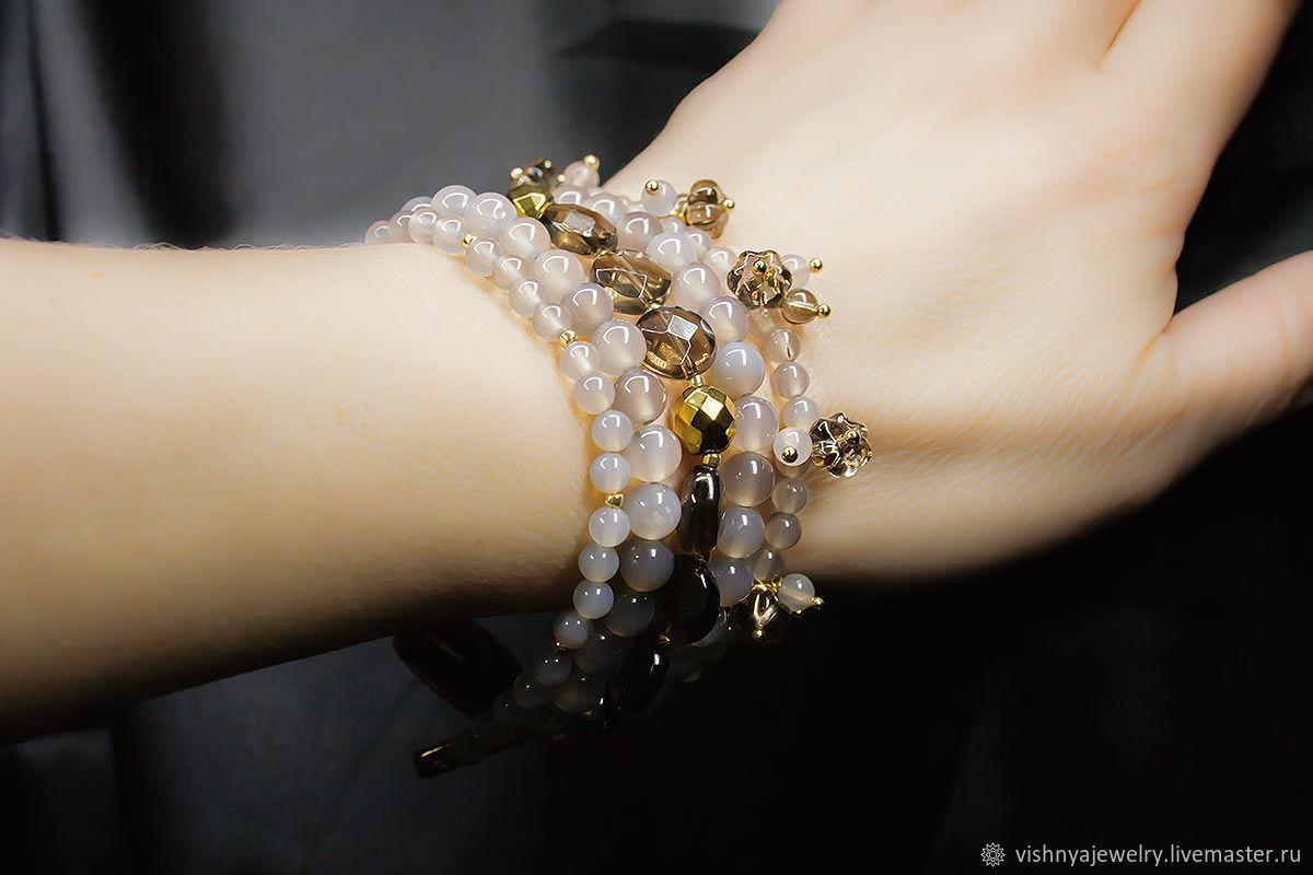 Bracelet Natural stones London, Bead bracelet, Moscow,  Фото №1