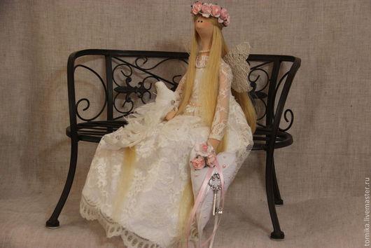 Куклы Тильды ручной работы. Ярмарка Мастеров - ручная работа. Купить Amily. Handmade. Белый, кукла Тильда, фурнитура