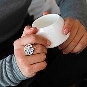 handmade. Livemaster - original item Palette silver ring. Handmade.