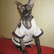 Для домашних животных, ручной работы. Ярмарка Мастеров - ручная работа Платье в стиле Шанель. Handmade.