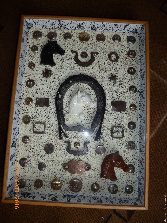 Винтажные предметы интерьера. Ярмарка Мастеров - ручная работа. Купить Винтаж: Подкова. Handmade. Лошадь, сувенир, подкова на счастье, медь