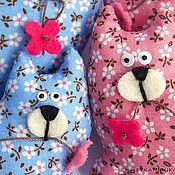 Куклы и игрушки ручной работы. Ярмарка Мастеров - ручная работа Цветочные кошки-брошки. Handmade.