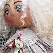 """Куклы и игрушки ручной работы. Ярмарка Мастеров - ручная работа """"Светло-пушистая..."""" текстильная кукла. Handmade."""