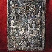 Для дома и интерьера handmade. Livemaster - original item Wall key holder/ Hanger CAT HOUSE. Handmade.