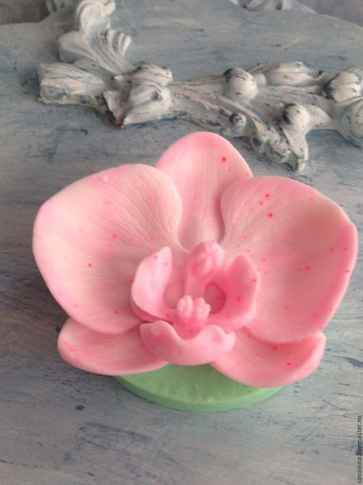 """Мыло ручной работы. Ярмарка Мастеров - ручная работа. Купить Мыло,,Любимая орхидея"""". Handmade. Мыло ручной работы"""