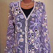 Одежда handmade. Livemaster - original item Cardigan . Irish lace.. Handmade.