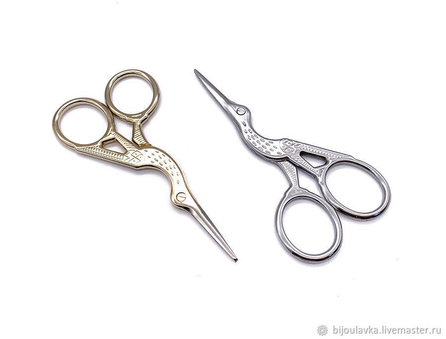Ножницы цапельки, 2 цвета, 9,4 см х 4,6 см – купить на Ярмарке Мастеров – INU75RU | Инструменты для украшений, Москва