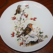 Винтаж handmade. Livemaster - original item Beautiful wall plates series