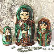 Русский стиль handmade. Livemaster - original item Matryoshka 3 places