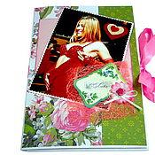 Открытки ручной работы. Ярмарка Мастеров - ручная работа Большая персональная открытка на заказ с музыкой - формат А4. Handmade.