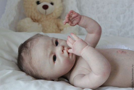 Куклы-младенцы и reborn ручной работы. Ярмарка Мастеров - ручная работа. Купить Lovelyn. Handmade. Кукла, винил
