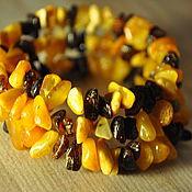 Украшения handmade. Livemaster - original item Bracelet made of amber. Baby amber. Handmade.