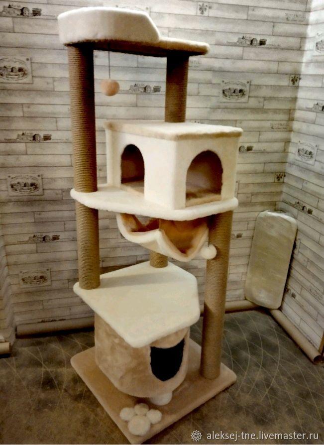 Комплекс для кошки номер 43, Домик для питомца, Москва,  Фото №1