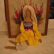 Куклы Тильда ручной работы. Ярмарка Мастеров - ручная работа Тильда солнечная. Handmade.