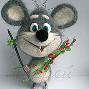 Куклы и игрушки ручной работы. Ярмарка Мастеров - ручная работа Мыша.. Handmade.
