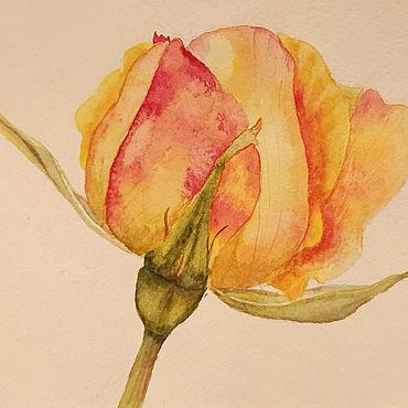 Картины и панно ручной работы. Ярмарка Мастеров - ручная работа Картины: Роза. Handmade.