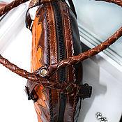 Сумки и аксессуары ручной работы. Ярмарка Мастеров - ручная работа Женственная сумка с хвостом аллигатора. Handmade.