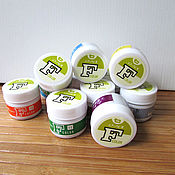 Краски ручной работы. Ярмарка Мастеров - ручная работа Японские сухие краски для ткани, шелка F Color, поштучно. Handmade.