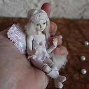 Куклы и игрушки ручной работы. Ярмарка Мастеров - ручная работа Маленькая Мисс (фарфоровая шарнирная кукла). Handmade.