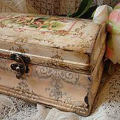 Для дома и интерьера ручной работы. Ярмарка Мастеров - ручная работа Ретро-шкатулка Ангелы роз. Handmade.