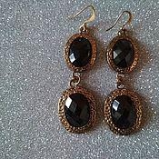 Винтаж handmade. Livemaster - original item earrings. Handmade.
