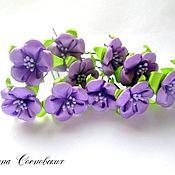 Украшения ручной работы. Ярмарка Мастеров - ручная работа цветочек на шпильке. Handmade.