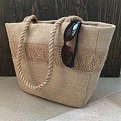 Сумки и аксессуары handmade. Livemaster - original item Beach bag