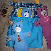 Куклы и игрушки ручной работы. Ярмарка Мастеров - ручная работа Медвежнок карманный. Handmade.