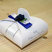 Свадебный салон ручной работы. Ярмарка Мастеров - ручная работа Бонбоньерка (арт. 0005). Handmade.