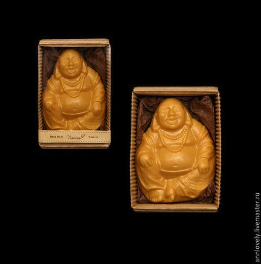 Мыло ручной работы. Ярмарка Мастеров - ручная работа. Купить Хотей или Смеющийся Будда, мыло ручной работы в коробочке. Handmade.