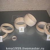 Материалы для творчества ручной работы. Ярмарка Мастеров - ручная работа заготовки для браслетов. Handmade.